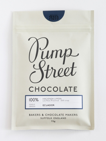 100% hacienda limon ecuador pump street bakery chocolade