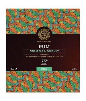 chocolate tree rum kokos ananas chocolade