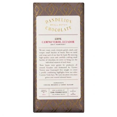 Dandelion – Ecuador 85%