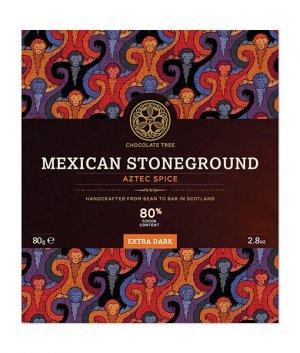 mexico steengemalen chocolate tree chocolade met specerijen traditioneel kruidig pittig kaneel biologisch