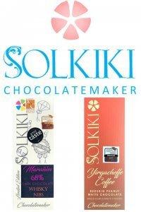 solkiki chocolademaker vegan veganistische melkchocolade en witte chocolade eerlijk craft chocolate
