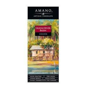 amano ecuador guayas river basin chocolade puur bijzonder