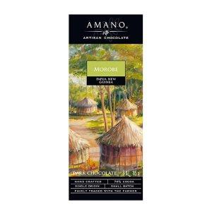 amano moroba papua nieuw guinea chocolade puur craft chocolate