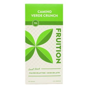 fruition camino verde crunch ecuador chocolate craft