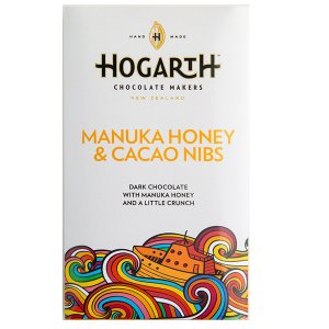 hogarth craft chocolate met honing en cacaonibs manuka