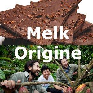melkchocolade melk origine chocoladepakket voor actie &meer abnamro bean to bar