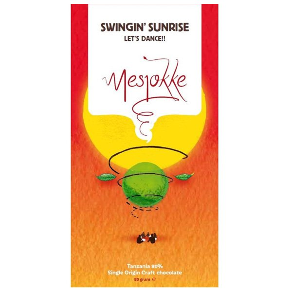 mesjokke swingin sunrise tanzania single origin bean to bar chocolade