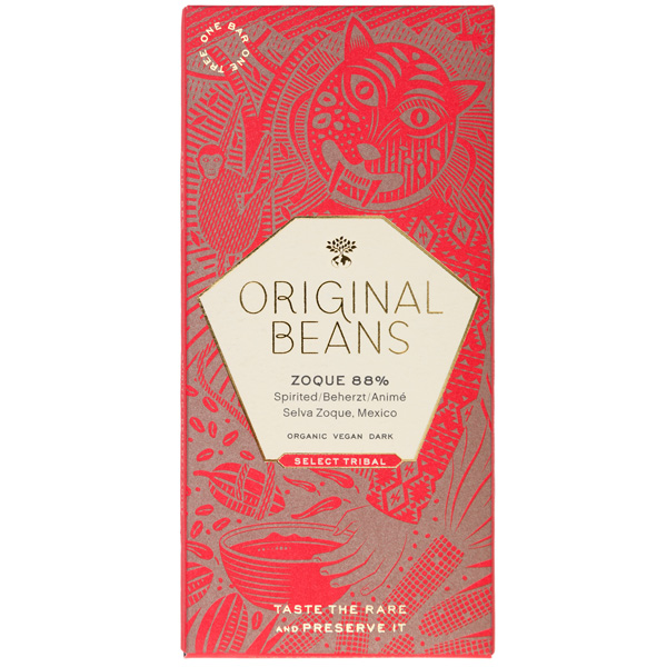 original beans krachtige enorm pure chocolade extra puur 88% cacao donker zacht van smaak smeltend