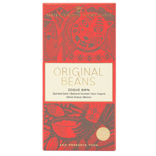 original beans mexico zoque donker puur one bar one tree vegan compostable fair