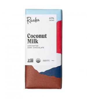 Raaka coconut milk coconut vegan vegan chocolate milk chocolate without dairy dairy free raaka biological incredible taste