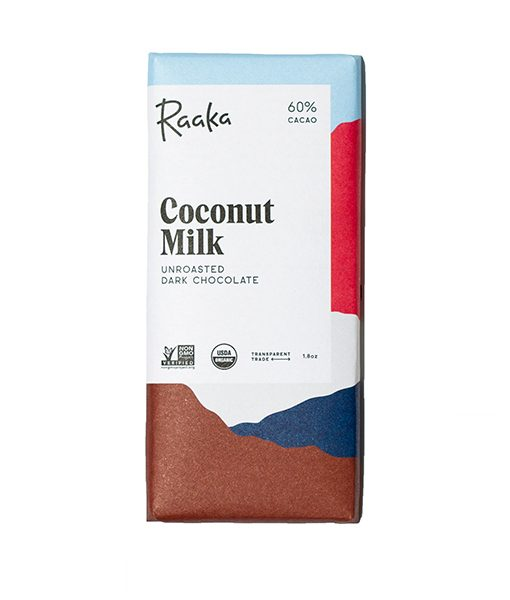Raaka coconut milk coconut vegan vegan chocolate milk chocolate without dairy dairy free raaka biological incredible taste