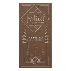 ritual the nib bar chocolade blend met nibs
