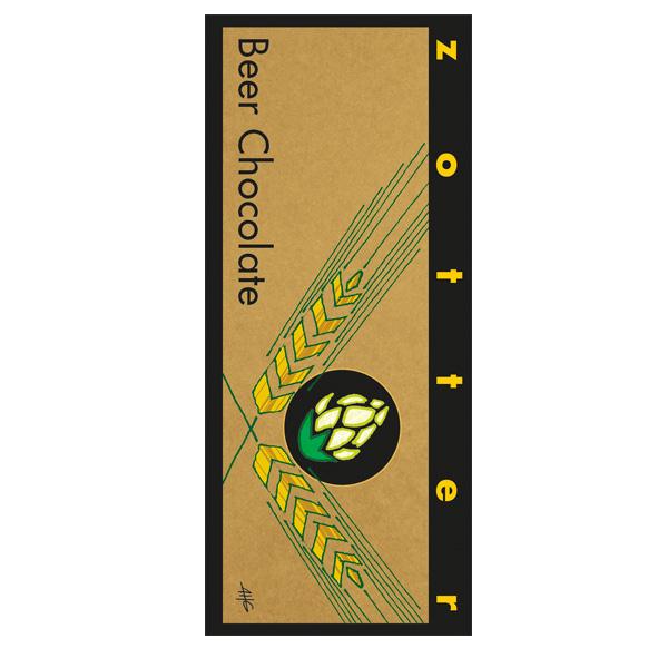 zotter bier chocolade ganache van IPA speciaalbier craft beer combi