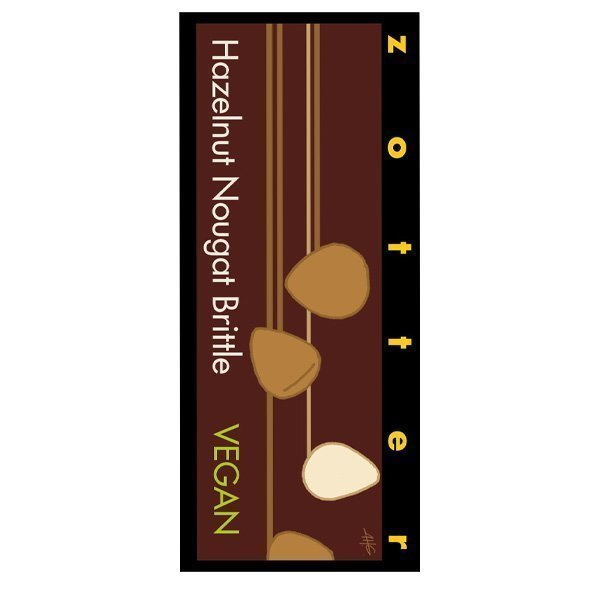 zotter hazelnut crispy nougat bio fair zotter bean to bar from the east