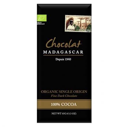 Chocolat Madagascar 100% Bio