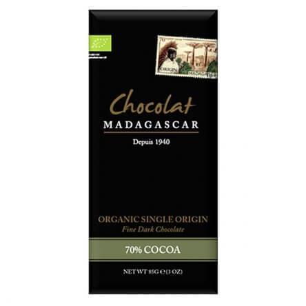 Chocolat Madagascar 70% Bio