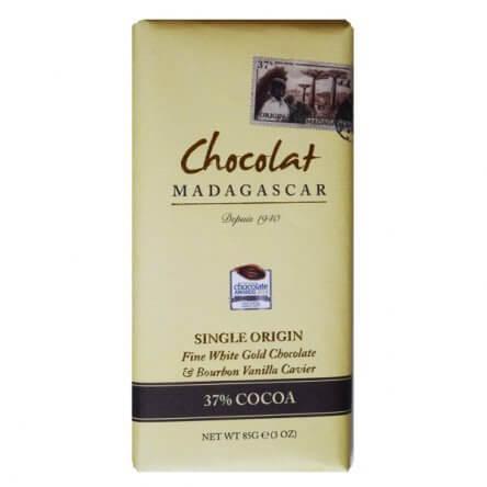 Chocolat Madagascar Wit & Bourbon Vanille