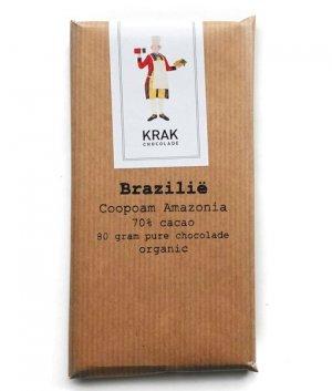 krak chocolade brazilie 70% puur