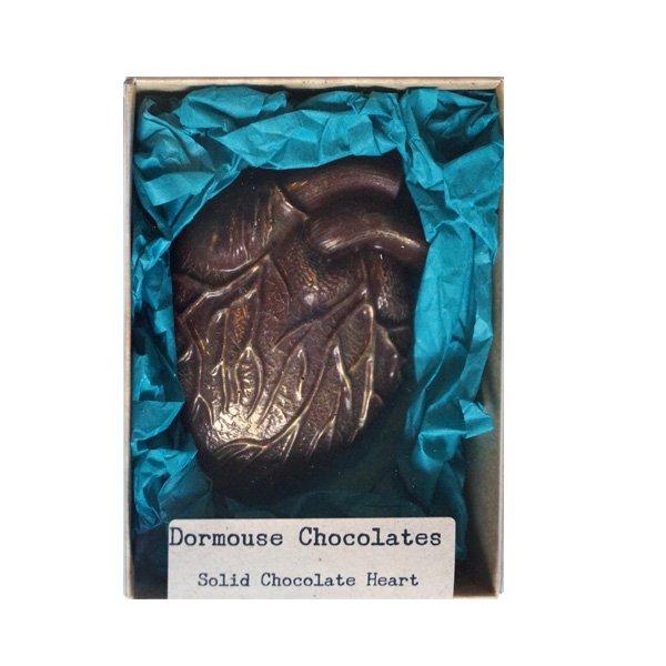 dormouse valentijn geschenk anatomisch hart van chocolade puur