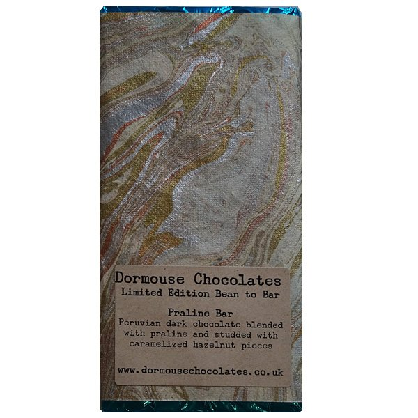 dormouse praline hazelnuts chocoalte dark with hazelnutpraline