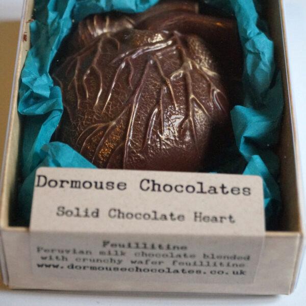 dormouse chocolade hart feuilletine melk