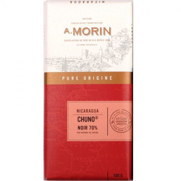 morin chuno nicaragua chocolate made in france from chuno cacao