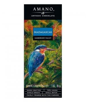 amano madagaskar chocolade bijzondere origine cacao 70% puur fruitig zacht vanille