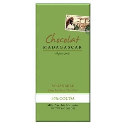 Chocolat Madagascar 40% Vegan Milc