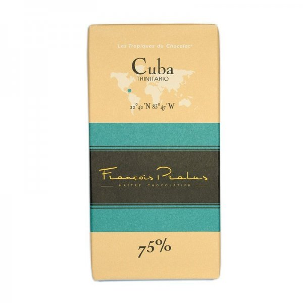 pralus cuba cuban cacao trinitario a chocolate made by francois pralus in rouanne france order at chocoladeverkopers dutch craft chocolate webstore