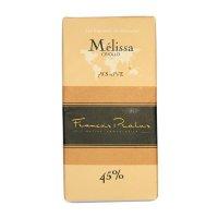 pralus melissa melkchocolade een chocoladereep zeer zacht en rijk van smaak