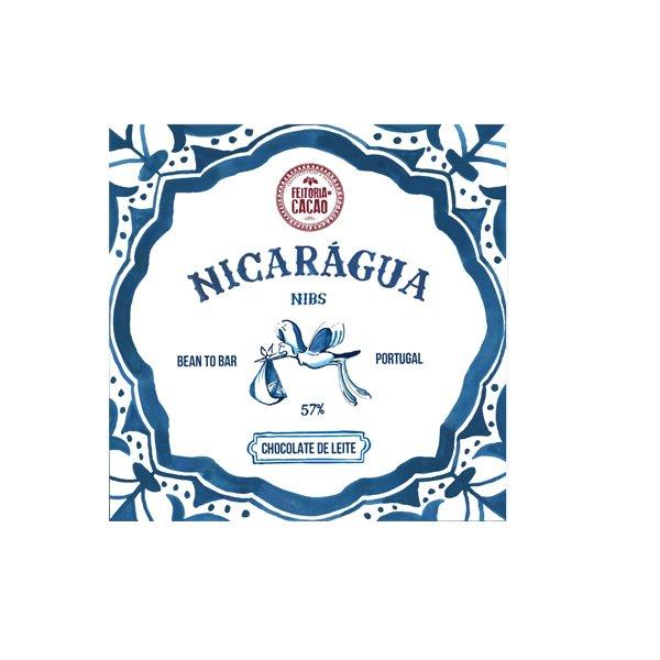 donkere melkchocolade met hoog cacaopercentage en cacaonibs van feitoria do cacao bean to bar uit portugal