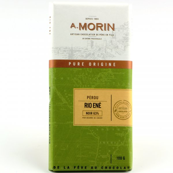 morin floral dark fruity chocolate from peru organic bean to bar