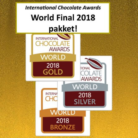 International Chocolate Awards 2018 Wereldfinale