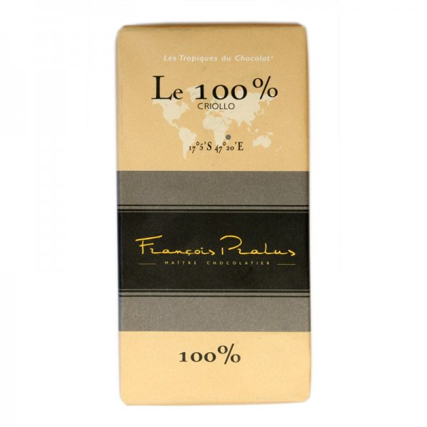 100% dark chocolate pralus madagascar criollo