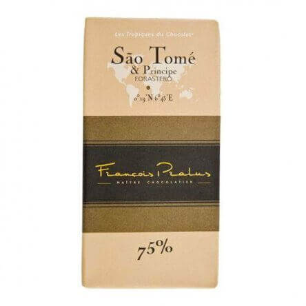 Pralus Sao Tomé en Principe 75%