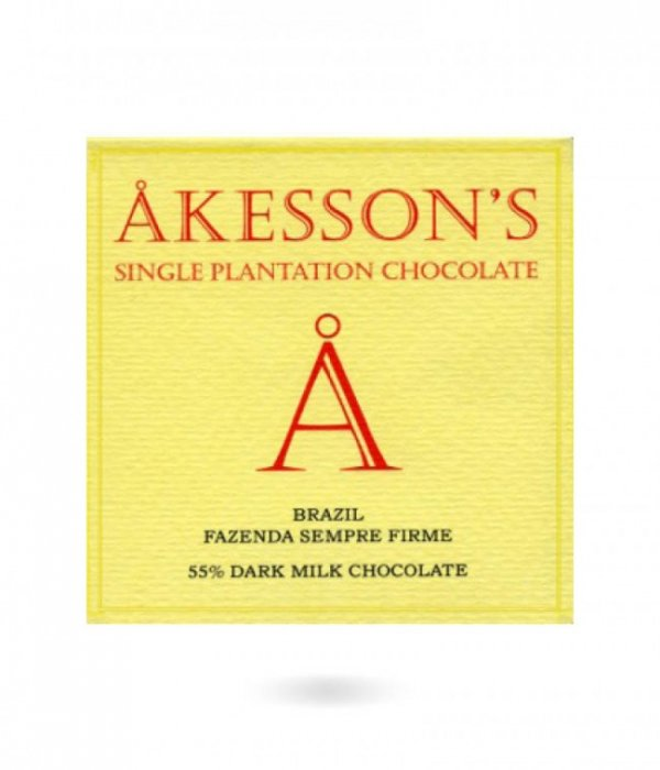 akesson's brazilian dark milk chocolate