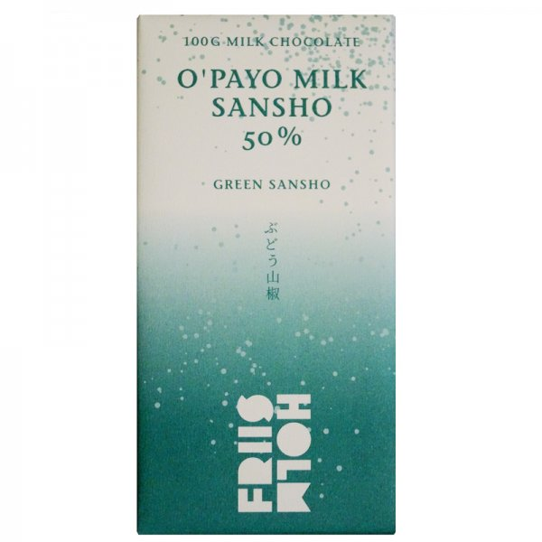 friis holm green sancho pepper milk chocolate