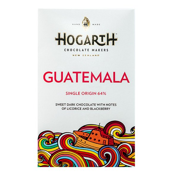hogarth guatemala single origin chocolate limited craft chocolate from new zealand