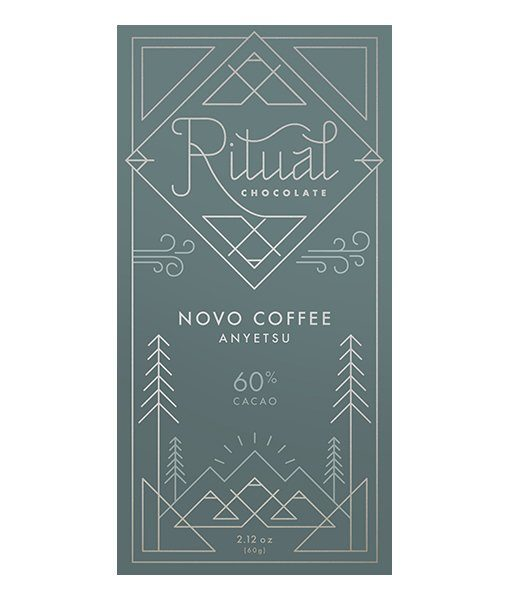 ritual novo coffee ethiopia wellega sundried chocolate blend craft chocolate american