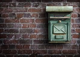 brievenbus voor het bezorgen van de chocolade die wij versturen