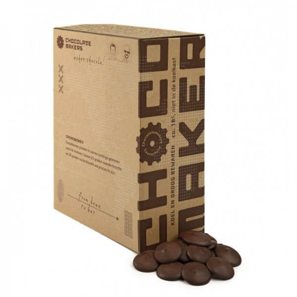 chocolatemakers couverture chocolade awajun 80 peru criollo chocolatemakers bean to bar