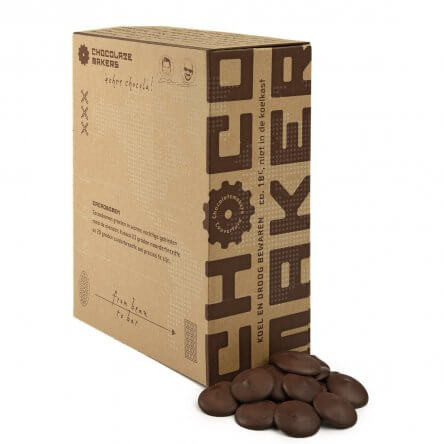 Chocolatemakers Couverture Virunga 70% Congo (2kg)