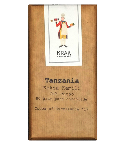 krak tanzania kokoa kamili chocolate dark craft dutch chocolatemaker