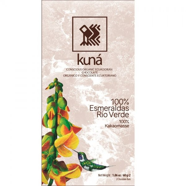 organic chocolate from kuna from ecuador bean to bar chocolate fair and delicious