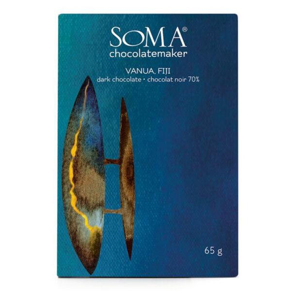soma fiji vanua chocolade cacao een 70%