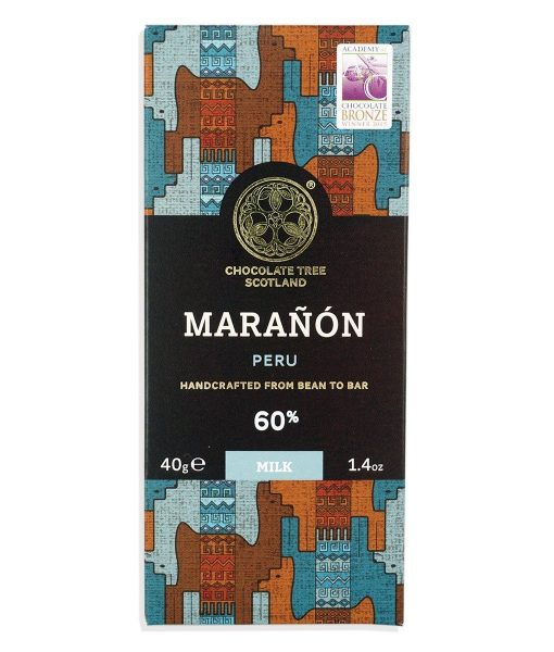 chocolate tree maranon donkere melkchocolade peru 60% dark milk