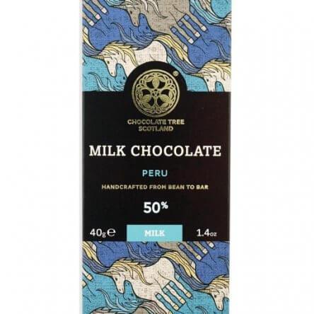 Chocolate Tree Piura Peru Melk (40gr)