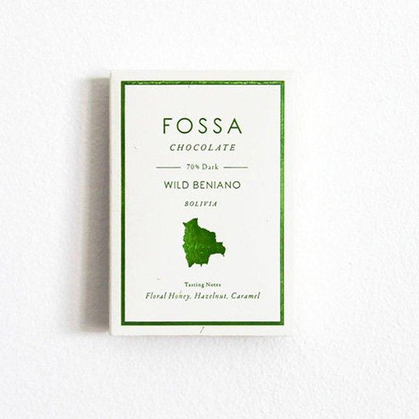 fossa beni bolivia chocolade pure chocoladereep van wild beniano cacao zeer rijke smaak honing floraal noten zoet