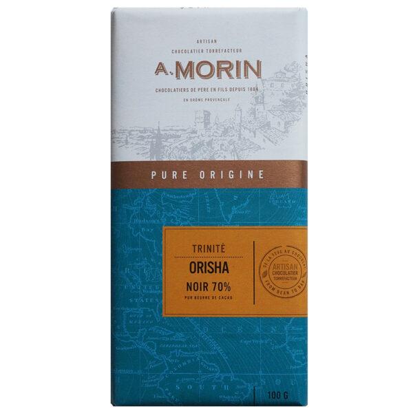 trinidad cacao in deze origine chocolade van franse chocolademaker a. morin bestel bij de chocoladeverkopers thuisbezorgd