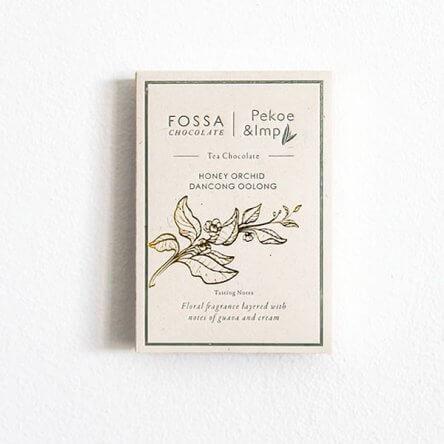 Fossa – Tea Chocolate – Honey Orchid Dancon Oolong